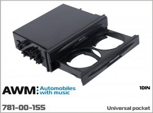 Универсальный карман с подстаканником AWM 781-00-155