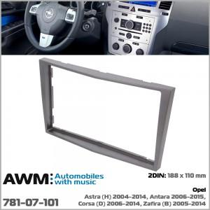 Переходная рамка Opel Astra, Antara, Corsa, Zafira AWM 781-07-101