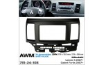Переходная рамка Mitsubishi Lancer X AWM 781-24-108