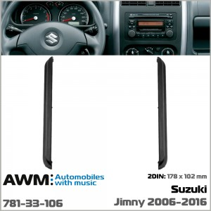 Переходная рамка для автомобиля Suzuki Jimny AWM 781-33-106