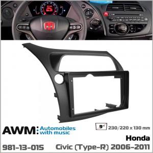 Переходная рамка Honda Civic AWM 981-13-015