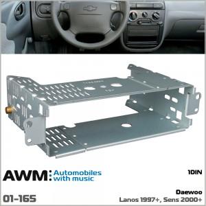 Шахта для магнитолы Daewoo Lanos AWM 01-165