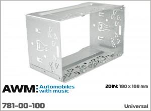 Универсальная шахта для крепления 2 DIN магнитол AWM 781-00-100