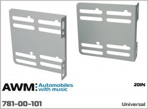 Крепежные уши для установки 2 DIN магнитол универсальные AWM 781-00-101