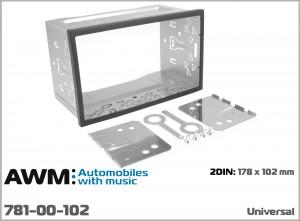 Универсальный набор для крепления 2 DIN магнитол AWM 781-00-102