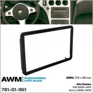 Переходная рамка Alfa Romeo 159, Brera AWM 781-01-961