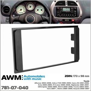 Переходная рамка для автомобилей Toyota AWM 781-07-040