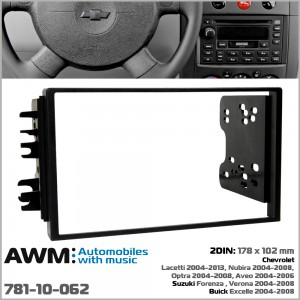 Переходная рамка Chevrolet, Suzuki AWM 781-10-062