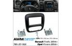 Переходная рамка Opel, Renault AWM 781-27-102