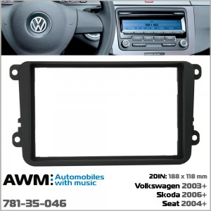 Переходная рамка Volkswagen, Skoda, Seat AWM 781-35-046