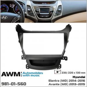 Переходная рамка Hyundai Elantra, Avante AWM 981-01-560