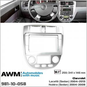 Переходная рамка Chevrolet Lacetti, Nubira AWM 981-10-058