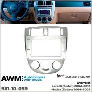 Переходная рамка Chevrolet Lacetti, Nubira AWM 981-10-059