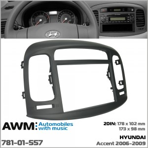 Переходная рамка Hyundai Accent AWM 781-01-557