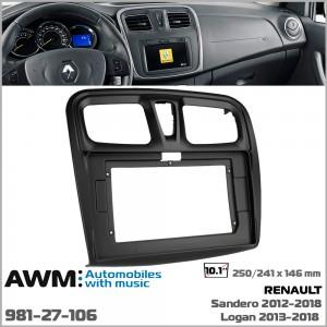 Переходная рамка Renault Dacia Logan, Sandero AWM 981-27-106