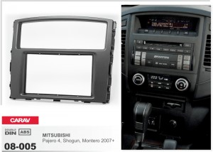 Переходная рамка Mitsubishi Pajero, Shogun, Montero Carav 08-005