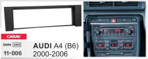 Переходная рамка Audi A4 Carav 11-006