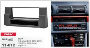 Переходная рамка BMW 5, E39, X5, E53 Carav 11-012