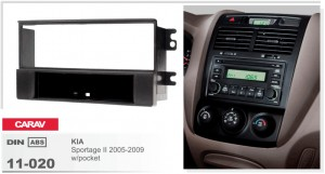 Переходная рамка KIA Sportage Carav 11-020