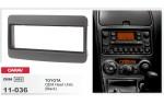 Переходная рамка Toyota 1 DIN Carav 11-036