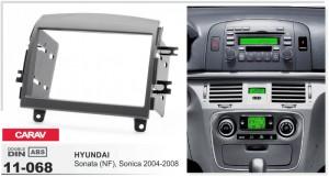 Переходная рамка Hyundai Sonata, Sonica Carav 11-068