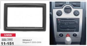 Переходная рамка Renault Megane Carav 11-151