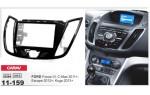 Переходная рамка Ford Focus, C-Max, Kuga, Escape Carav 11-159