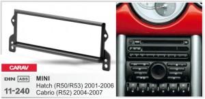 Переходная рамка Mini Hatch, Cabrio (R50/R52/R53) Carav 11-240
