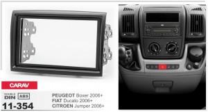 Переходная рамка Peugeot Boxer Carav 11-354