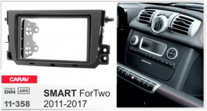 Переходная рамка Smart ForTwo Carav 11-358