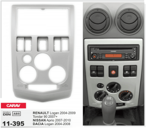 Переходная рамка Dacia Logan Carav 11-395