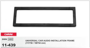 Универсальная переходная рамка 1 DIN Carav 11-439