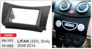 Переходная рамка Lifan 320, Smily Carav 11-452