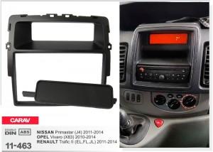 Переходная рамка Nissan Primastar Carav 11-463