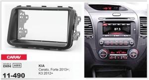 Переходная рамка KIA Cerato, Forte, K3 Carav 11-490