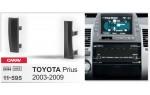 Переходная рамка Toyota Prius Carav 11-595