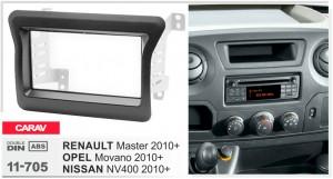 Переходная рамка Renault, Opel, Nissan Carav 11-705