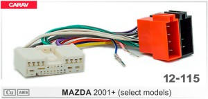 Переходник ISO Mazda Carav 12-115