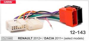 Переходник ISO Renault, Dacia Carav 12-143