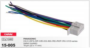 Разъем для магнитолы Panasonic Carav 15-005