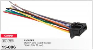 Разъем для магнитолы Pioneer Carav 15-006