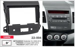 Переходная рамка Mitsubishi Outlander XL, Peugeot 4007 Carav 22-004
