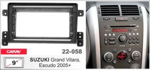 Переходная рамка Suzuki Grand Vitara, Escudo Carav 22-058