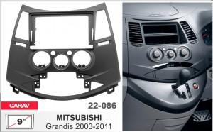 Переходная рамка Mitsubishi Grandis Carav 22-086