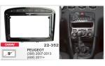 Переходная рамка Peugeot 308, 408 Carav 22-352