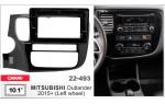 Переходная рамка Mitsubishi Outlander Carav 22-493