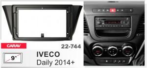 Переходная рамка Iveco Daily Carav 22-744