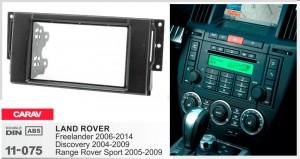 Переходная рамка Land Rover Freelander, Discovery, Range Rover Sport Carav 11-075