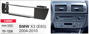 Переходная рамка BMW X3 (E83) Carav 11-126