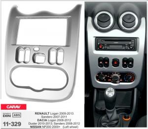 Переходная рамка Renault, Dacia Duster, Sandero, Logan Carav 11-329